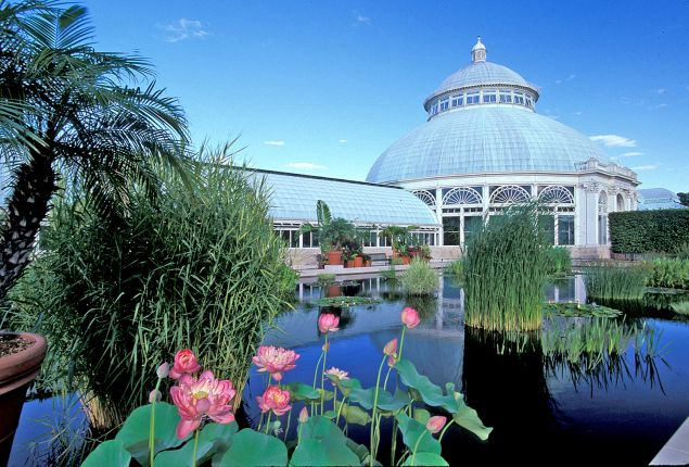 The New York Botanical Garden.