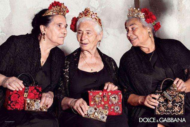 Dolce & Gabbana's spring 2015 campaign (Photo: Dolce & Gabbana).