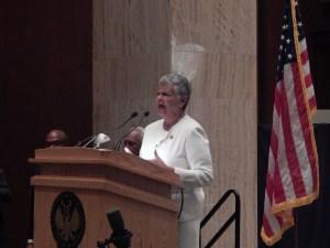 U.S. Rep. Bonnie Watson Coleman.