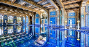 Hearst Castle's pool.