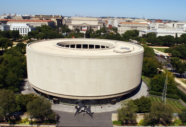 The Hirshhorn Museum and Sculpture Garden. (Courtesy the Hirshhorn)