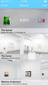 The discover function of the See Saw app.