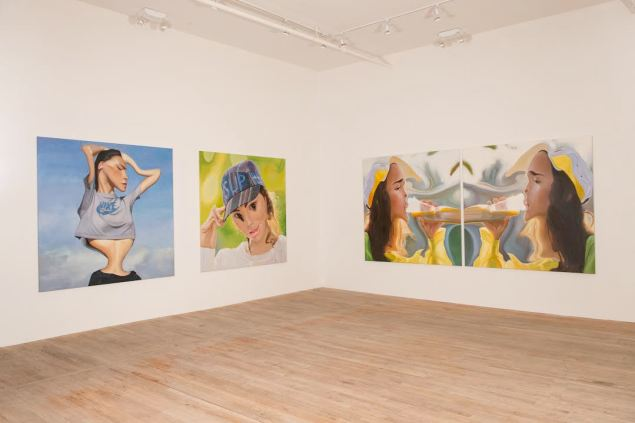 Installation view from 'Ryder Rips: Ho' at Postmasters Gallery (Photo Postmasters Gallery)