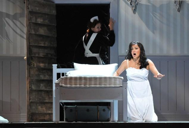 "Anna Netrebko in the title role of Tchaikovsky's ""Iolanta"" (Photo by: photo: Andrea Kremper)."