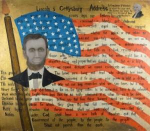 John Kane, Lincoln's Gettysburg Address, (Before 1931) (Courtesy Galerie St. Etienne)