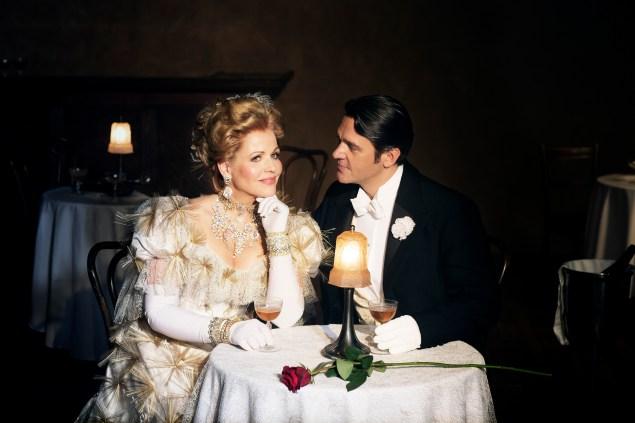 A Widow too prim. (Brigitte Lacombe/Metropolitan Opera)