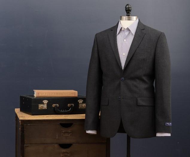 A suit and shirt at Hugh & Crye. (Photo via Hugh & Crye)
