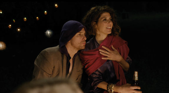 Sam Rockwell and Marisa Tomei in Loitering With Intent.