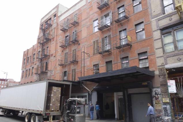 Streit's Matzo factory, 148-154 Rivington Street. (Nicholas Strini/Property Shark)