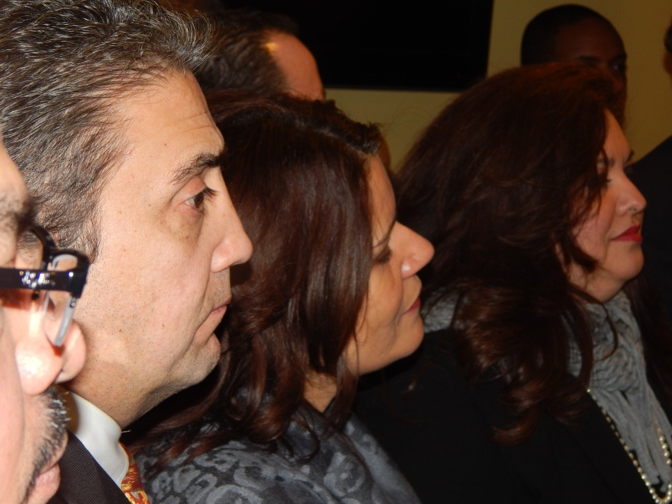Perth Amboy MAyor WIlda Diaz finds herself between Elizabeth Board Member Tony Monteiro and Assemblywoman Annette Quijano (D-20) amid rumors of Monteiro running against the assemblywoman this year.