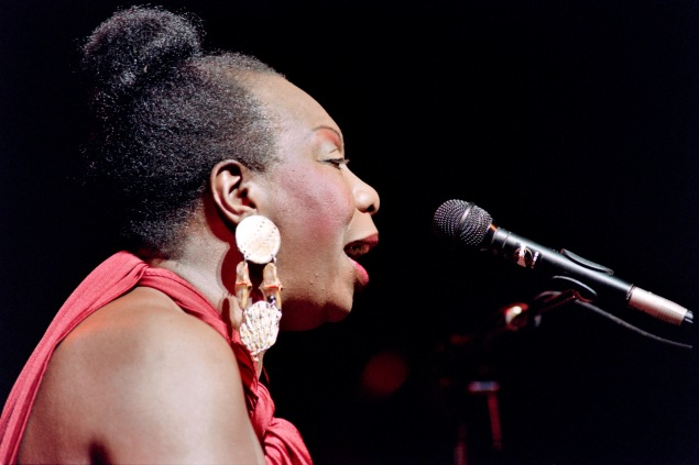 Nina Simone performs in Paris in the fall of 1991. (Photo: Getty Images)