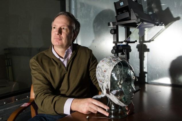Scientist Paul Sajda  by Arman Dzidzovic/New York Observer