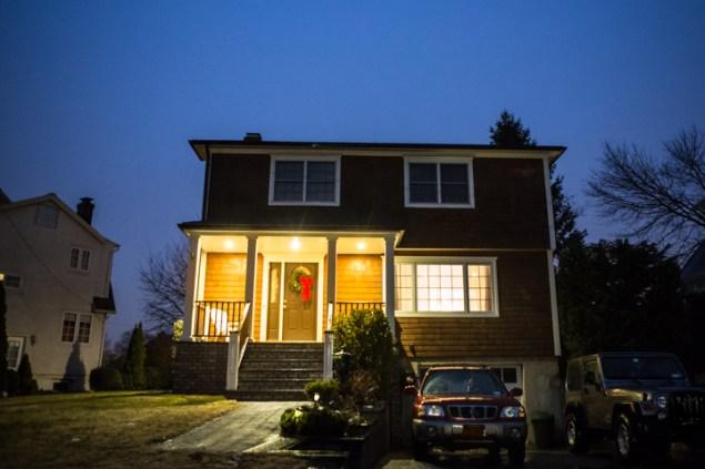 The house Matt and Amy Kitt bought in Rye. (Adam Jones/New York Observer.)