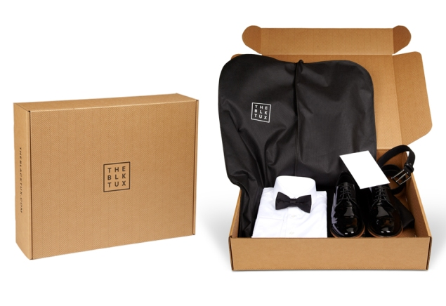 A package from The Black Tux. (Photo via The Black Tux)