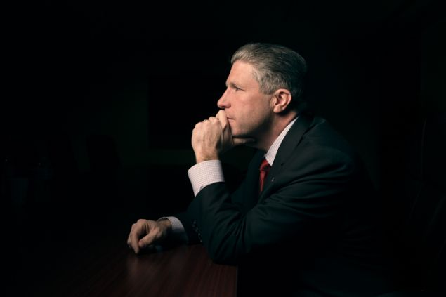 PBA President Patrick Lynch (Photo: Alex Jones for Observer).