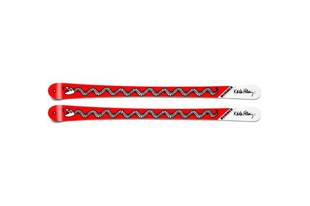 Bomber's Haring Red Snake skis.