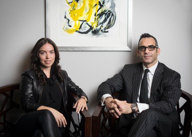 Anna Zarro and Shlomi Reuveni of Town Residential have seen a drastic change in the climate of the rental market. (Arman Dzidzovic)