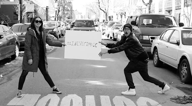 #IRespectMusic (Scrrengrab via YouTube)