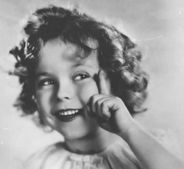 Shirley Temple. (Photo via Getty Images)