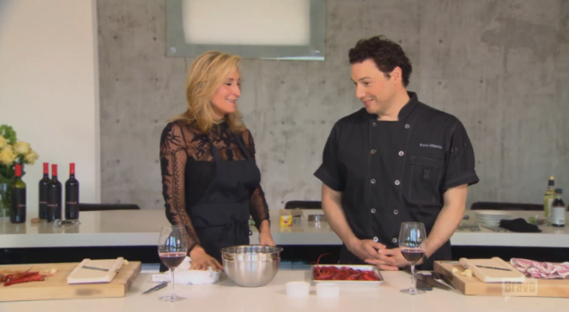 """""""Hello I am Rocco DiSpirito and it is purely a coincidence that I am here"""""""