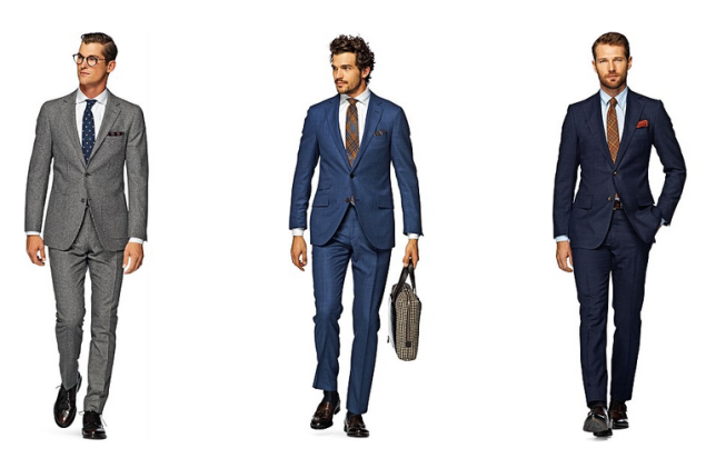 Suits from Suit Supply. (Photo via Suit Supply)