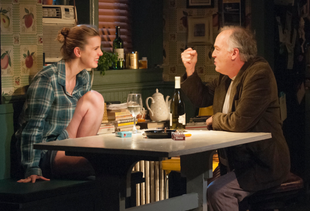 Betty Gilpin and Reed Birney star in I'm Gonna Pray For You So Hard.