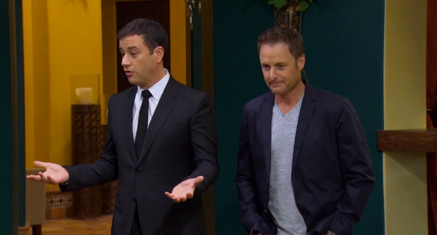 Even Chris Harrison looks pissed about it tbh.