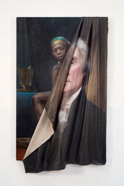 Titus Kaphar, to be titled, 2014). ©Titus Kaphar. Courtesy of the artist and Jack Shainman Gallery, New York)