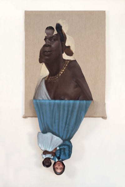 Titus Kaphar, to be titled, (2014). (©Titus Kaphar.  Courtesy of the artist and Jack Shainman Gallery, New York)