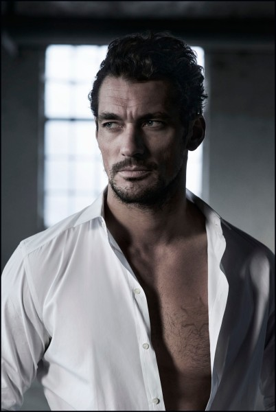 (Titles) - Mr Detective Man, (2014) by Rich Hardcastle. Male model David Gandy is his primary subject for the new show.