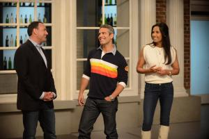 Andy Cohen's college roommate joined the talk-show host on Top Chef. (Bravo/BravoTV.com)