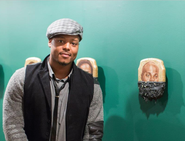 Artist Titus Kaphar. (©Titus Kaphar. Courtesy of the artist and Jack Shainman Gallery, New York)