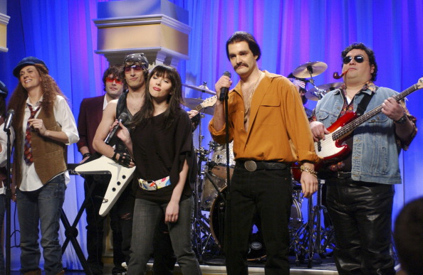 Johansson on SNL (Photo: NBC/Getty Images)