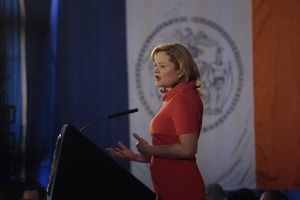 Council Speaker Melissa Mark-Viverito at her State of the City address. (Photo: William Alatriste/NYC Council)