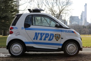 The NYPD hopes Smart Cars will be a safer alternative to scooters. (Flickr Creative Commons)