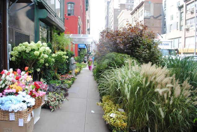 Manhattan's Flower District.