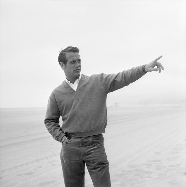 American actor Paul Newman, circa 1958. (Photo by Hulton Archive/Getty Images)
