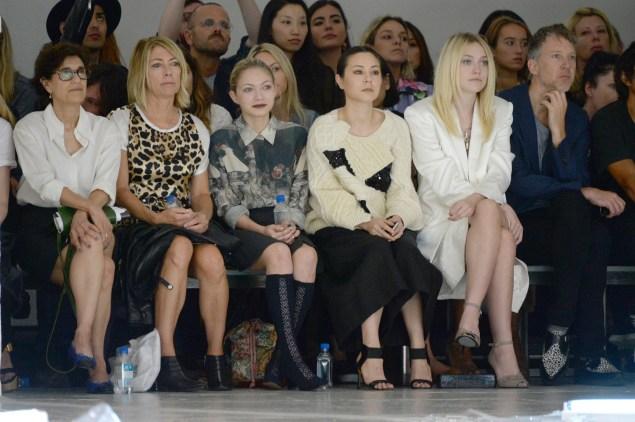 Kim Gordon, Tavi Gevinson, Cat Power and Dakota Fanning