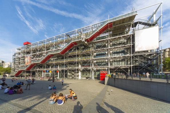 The Centre Georges Pompidou in Paris. (Photo by Pawel Libera/LightRocket via Getty Images)