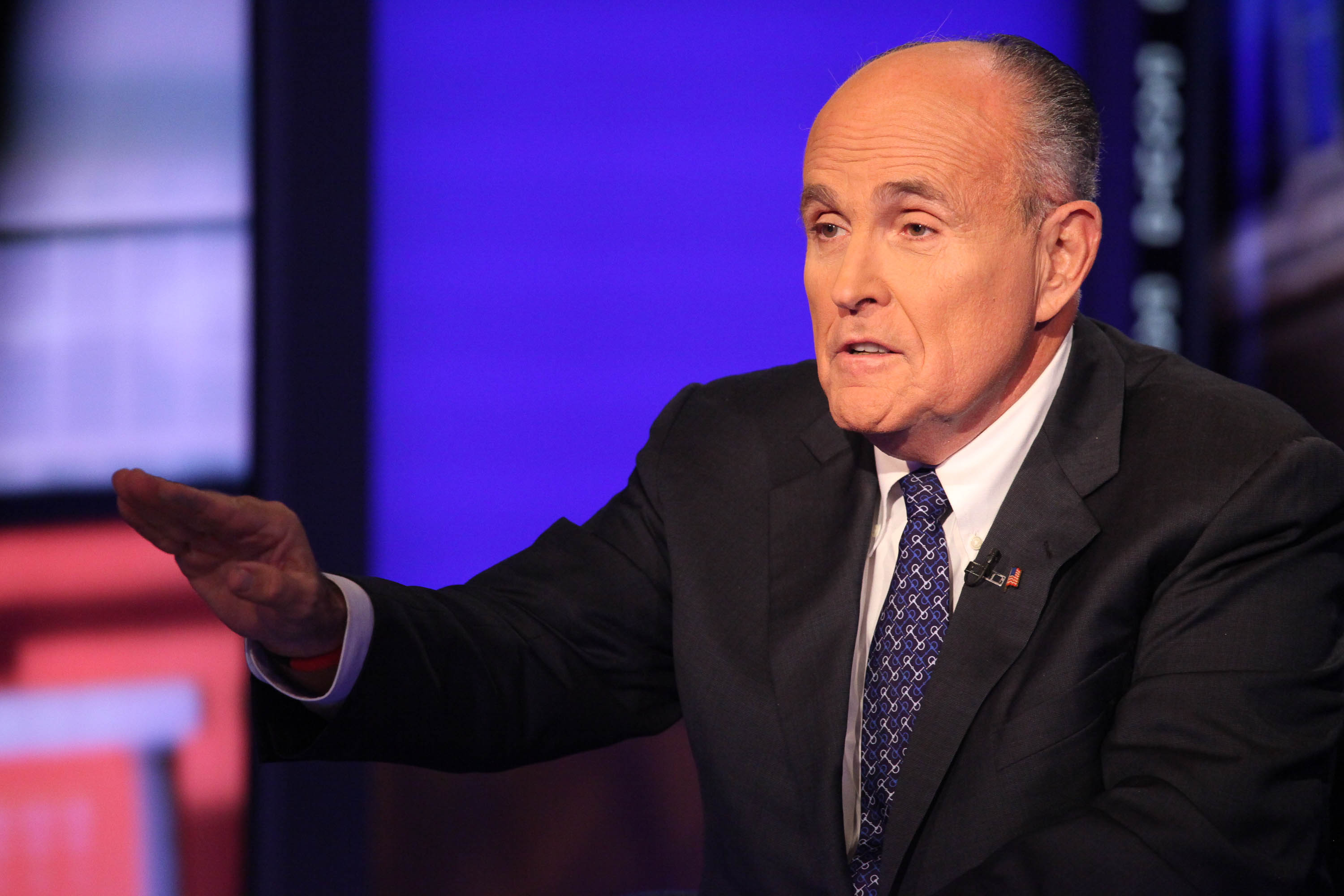 Former Mayor Rudolph Giuliani, who came to N.J. Governor Chris Christie's defense back in 2014.