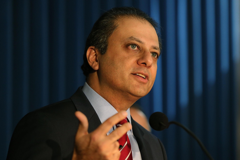 U.S. Attorney Preet Bharara.