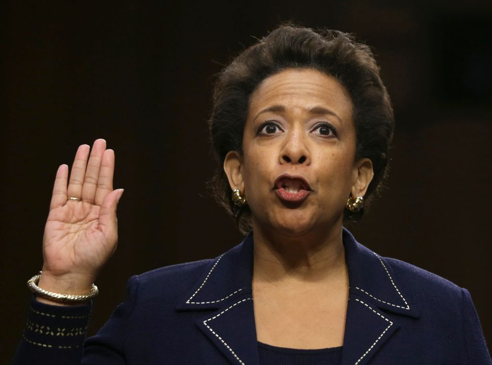Attorney General Loretta Lynch.