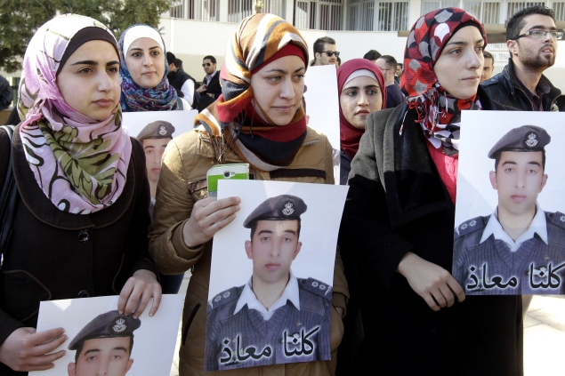 JORDAN-SYRIA-JAPAN-CONFLICT-HOSTAGES-JIHADISTS