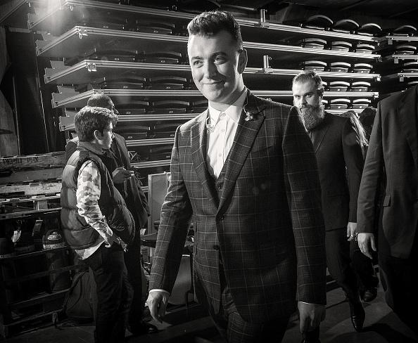 Sam Smith at the Grammys. (Photo by Christopher Polk/WireImage)