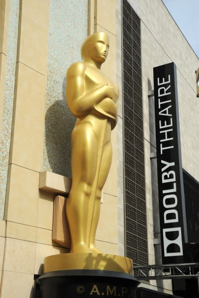Outside of the Dolby Theater during the Academy Awards. Photo by David Crotty/Patrick McMullan)