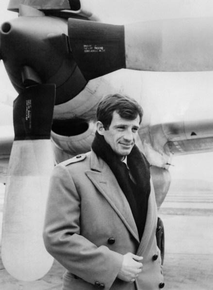 Belmondo in 1962 (Photo: Getty).