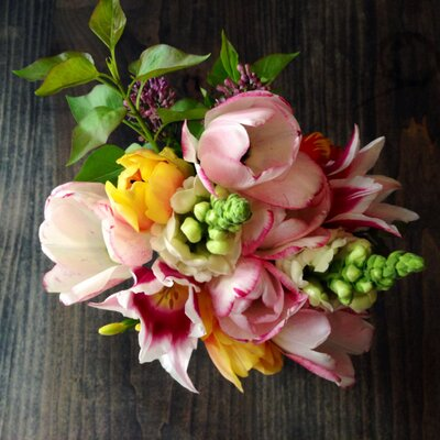 A bouquet from Petal by Pedal.
