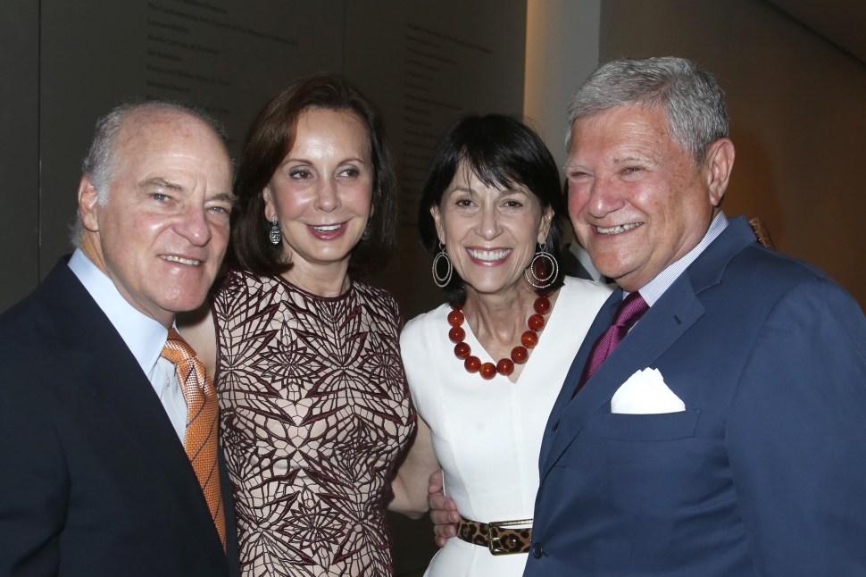 Henry Kravis, Marie-Josée Kravis, Kathryn Farley, Jerry Speyer atteneded a MoMA Benefit last June; The Kravises hosted Jeb Bush last night at an even event that Mr. Speyer also attended. (JIMI CELESTE/patrickmcmullan.com)