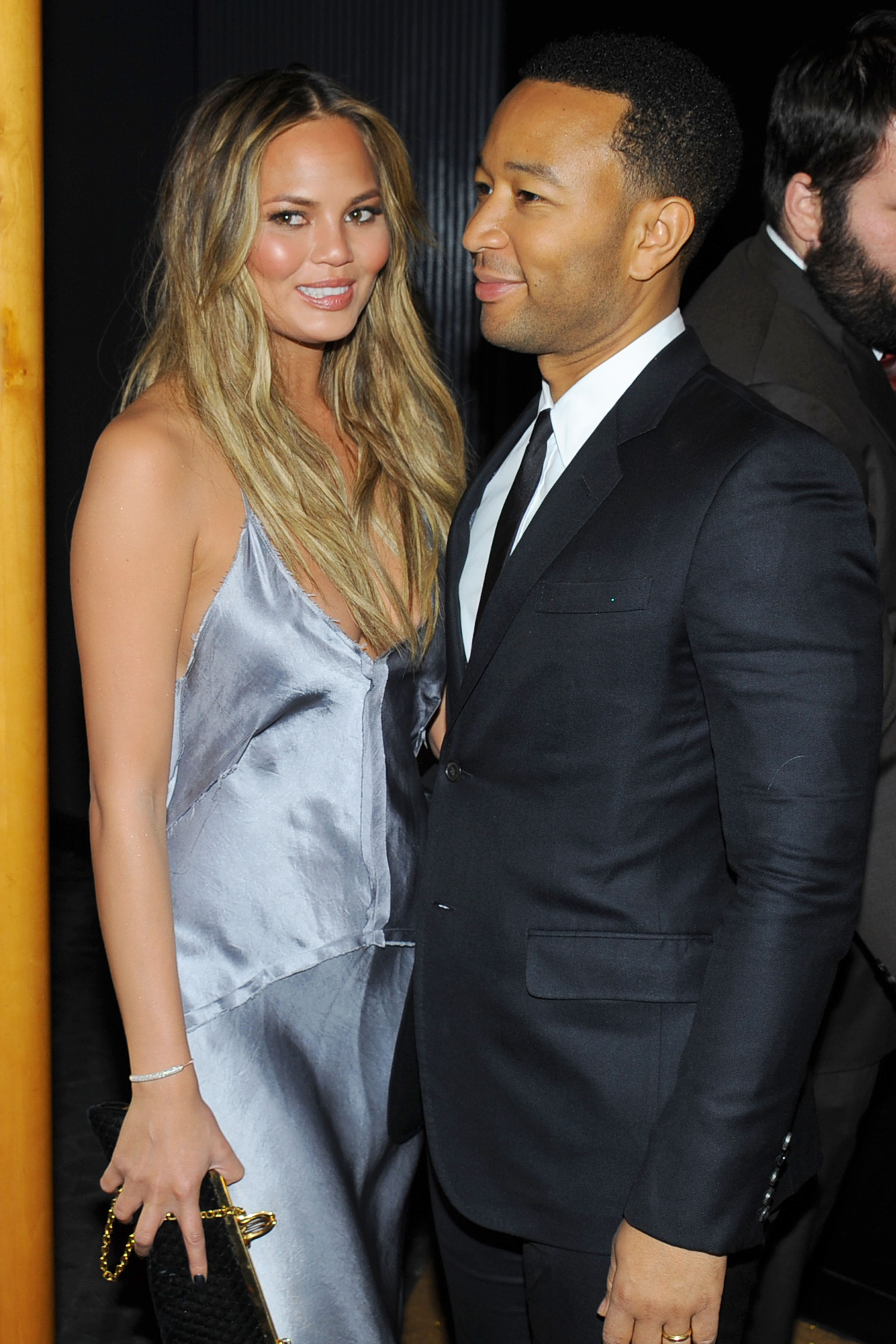 Chrissy Teigen and John Legend at the Reimagine Learning launch (Photo: Patrick McMullan).