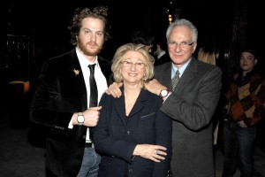 Evan, Sybil and David Yurman. (Patrick McMullan)